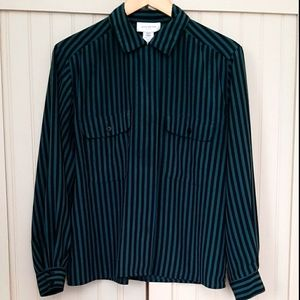 3 for 20$ 🧞‍♀️🧞‍♀️🧞‍♀️Vintage Striped Blouse